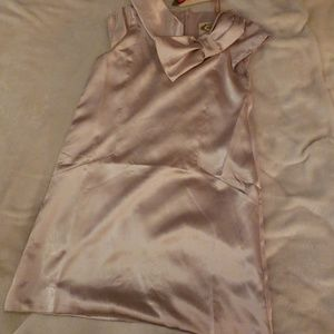 Joyfolie NWT girl's 5 Lana dress in metallic linen